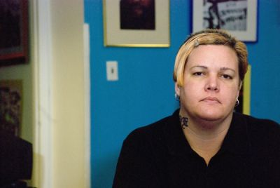 PAYING TO STAY: Linda Contés (pictured) and her husband Manuel were asked to pay $1,475 a month in rent to the city in May 2009 for living in a homeless shelter. The rent policy was suspended three weeks later, but the city says it will be reimplemented. PHOTO: MARK BAILEY.