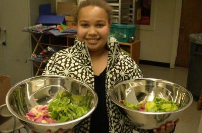 PHOTO: Courtesy of Fresh Fruit & Vegetable Snack Program, Ithaca, NY. New York Coalition for Healthy School Food, healthyschoolfood.org.