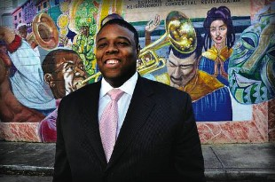 James Perry, a Mayoral candidate in the upcoming New Orleans election. PHOTO CREDIT: CHICAGOIST.COM