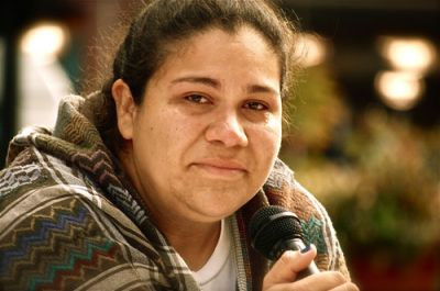 "WALKING THE DREAM: Undocumented Miami-Dade College music therapy student Gaby Pacheco is walking from Florida to D.C. in the ""Trail of Dreams"" to advocate immigration reform as her family faces deportation proceedings. PHOTO: TRAILOFDREAMS.ORG."