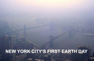 HARD TO BREATHE: Smog over New York. PHOTO: DR. EDWIN P. EWING, JR.
