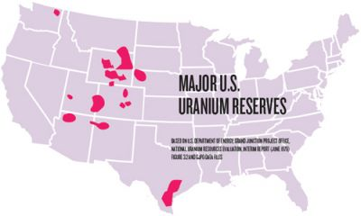 Resisting The Nuclear Boom A New Wave Of Uranium Mining Threatens - Were is the us's nuclear uranium mined map