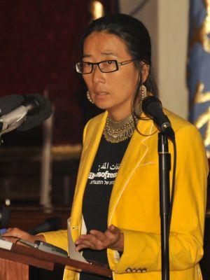 Filmmaker and activist Iara Lee. Photo by Ellen Davidson