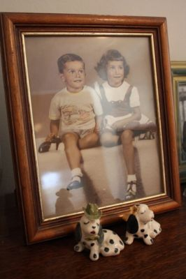 Evie Lou Hunt and her younger brother Billy Lee, as children. Billy Lee was kidnapped and disappeared by agents of the dictatorship in April 1977.  PHOTO: JOSEPH HUFF-HANNON