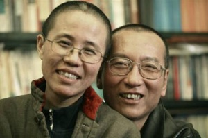 Neither Liu himself nor his wife were permitted to leave China to accept the Nobel Peace Prize. PHOTO: Reuters