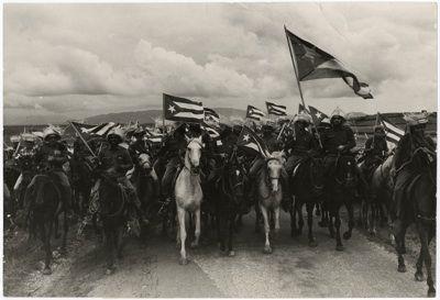 Raúl Corrales, La Caballeria (Cavalry), 1960. © The Corrales Estate, Havana, Cuba. Courtesy The International Art Heritage Foundation