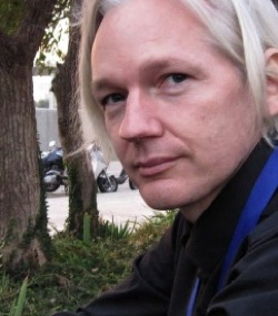 Julian Assange's work is essential to the functioning of a free press. PHOTO: ESTHER DYSON/FLICKR