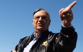 Maricopa Sheriff Joe Arpaio. Photo: Joshua Lott/Getty Images