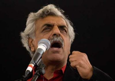Renowned author Tariq Ali will be speaking at Galapagos Art Space on Thursday. PHOTO: saharadoc.wordpress.com