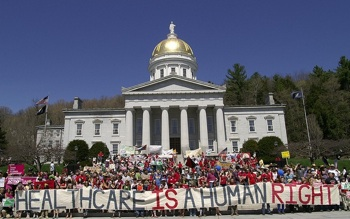 HEALTHCARE: Vermonters win political battle. PHOTO: HuffingtonPost.com