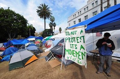 The Occupy movement is