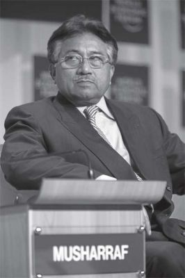 OUT OF OFFICE: Former President of Pakistan Pervez Musharraf. PHOTO: WEFORUM.ORG