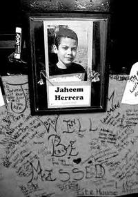 Eleven-year-old Jaheem Herrera