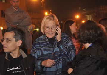 GFM organizer retired U.S. Army Col. Ann Wright