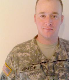 Sgt. Travis Bishop. PHOTO: via Travis Bishop