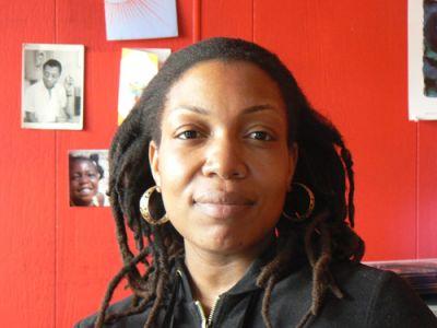 EDUCATION ADVOCATE: Flanbwayan director Darnell Benoit in her office in Flatbush, Brooklyn PHOTO: JAISAL NOOR