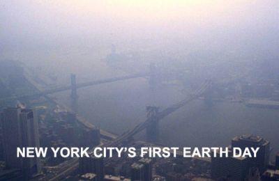 HARD TO BREATHE: Smog over New York. PHOTO: DR. EDWIN P. EWING, JR.