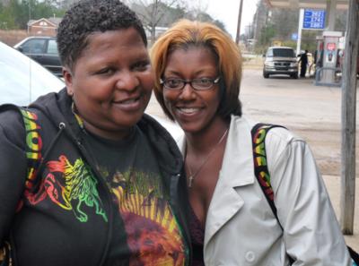Caseptla Bailey and Catrina Wallace. PHOTO: Huffington Post.