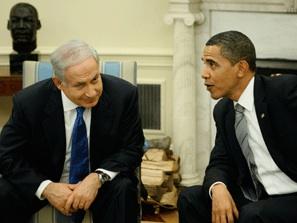 Israeli Prime Minister Benjamin Netanyahu and President Barack Obama. PHOTO CREDIT: AP