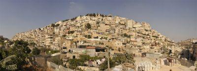 The Silwan neighborhood in East Jerusalem. PHOTO: ELLEN DAVIDSON