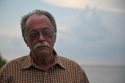 Clint Guidry, a shrimper in Lafitte, La. PHOTO: ERIKA BLUMENFELD
