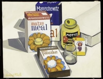 """""""Matzo Meal"""" by Audrey Flack. Courtesy of The Jewish Museum."""