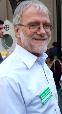 GREEN PARTY: Howie Hawkins. PHOTO: CAMPAIGN WEBSITE.