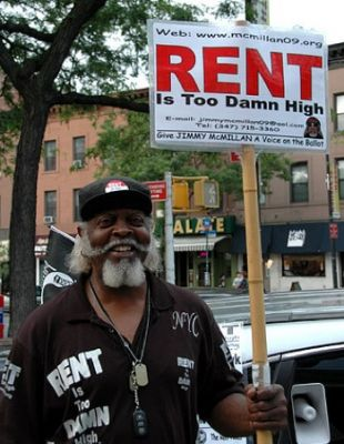 RENT IS TOO DAMN HIGH: Jimmy McMillan. PHOTO: FLICKR