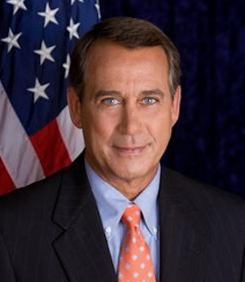 John Boehner. PHOTO: WIKI COMMONS
