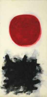 Adolph Gottlieb's Blast, I (1957). Courtesy of: Museum of Modern Art.