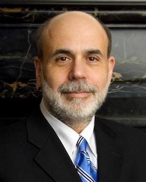Ben Bernanke. PHOTO: WIKIPEDIA COMMONS