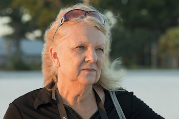 Shirley Tillman thinks dispersants used by BP have made her friends and family sick. Photo: Erika Blumenfeld
