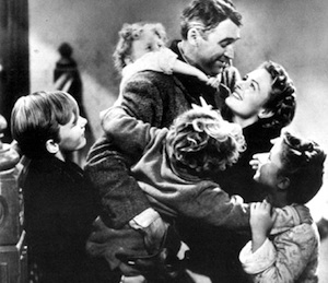 A scene from Frank Capra's 1946 classic It's a Wonderful Life.