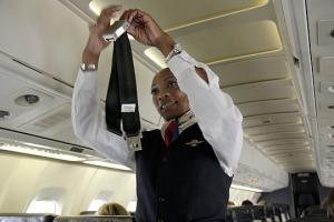 Delta flight attendants voted 9,544 to 9,216 against union representation, but the Association of Flight Attendants is asking for a re-run, saying the company coerced and intimidated workers. Photo: Jeff Greenberg/Alamy
