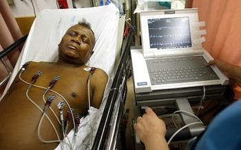 Emergency room in Brooklyn, New York. Photo: Getty Images/Mario Tama