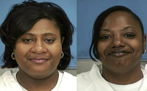 Sisters Gladys(R) and Jaime Scott. Courtesy of the Mississippi Department of Corrections.   Photo: HO/AFP/Getty Images/Newscom
