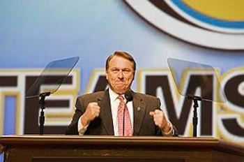 Teamster officials in the James Hoffa, Jr. administration tried to bribe election opponents into supporting the Hoffa slate, according to the federally appointed supervisor of Teamster elections. PHOTO: Jim West