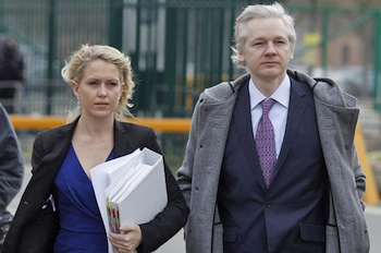 Lawyers for Julian Assange say he could face extradition to the United States once in Sweden. PHOTO: Reuters