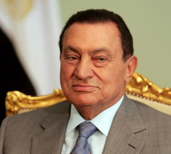 Hosni Mubarak, the former president of Egypt, stepped down on Feb. 11 amid massive demonstrations calling for his ouster. PHOTO: Wikimedia Commons
