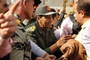 Egypt's Defence Minister Mohamed Hussein Tantawi. PHOTO: AFP