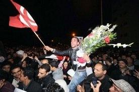Euphoria swept Arab cities after Mubarak's ouster.
