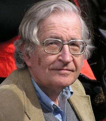 Noam Chomsky. PHOTO: etan.org
