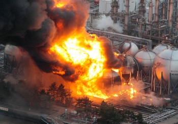 An explosion took place at the third reactor of the Fukushima power plant on March 15. CREDIT: telgraph.co.uk