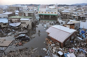 An 8.9 magnitude earthquake hit Japan on March 11.