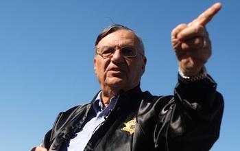 Maricopa Sheriff Joe Arpaio. Photo: Joshua Lott/Getty Images