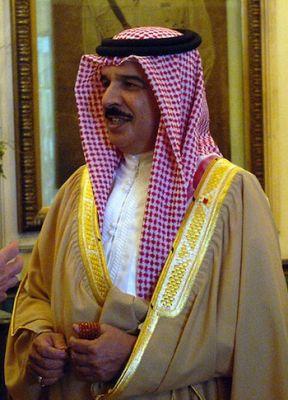BAHRAIN KING: Hamad bin Isa Al Khalifa. PHOTO: Julian Carroll/Wikipedia