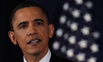 President Barack Obama delivers his address on Libya at the National Defense University in Washington, Monday, March 28, 2011. Photo: AP Photo/Manuel Balce Ceneta