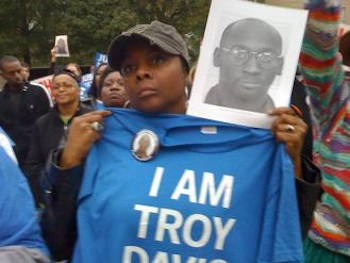 Marching for justice for Troy Davis. Photo: SocialistWorker.org