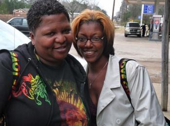 Caseptla Bailey and Catrina Wallace. CREDIT: MRZine.org