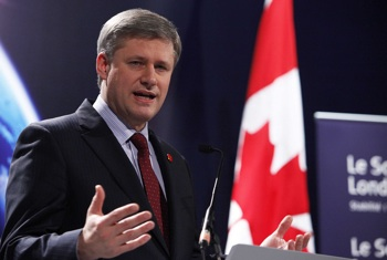 Prime Minister Stephen Harper: The real danger from a majority Conservative government, led by Harper, is to democracy and civil society. PHOTO: Flickr/London Summit